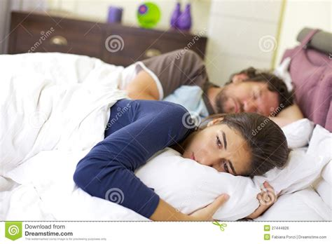 crying in bed young woman crying in bed desperate royalty free stock image image 27444826