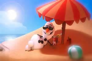 disney frozen olaf 180 s summer sticker for kids youtube