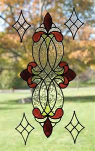 Murals Designs On Walls vineyard rose stained glass peel amp stick window cling ebay
