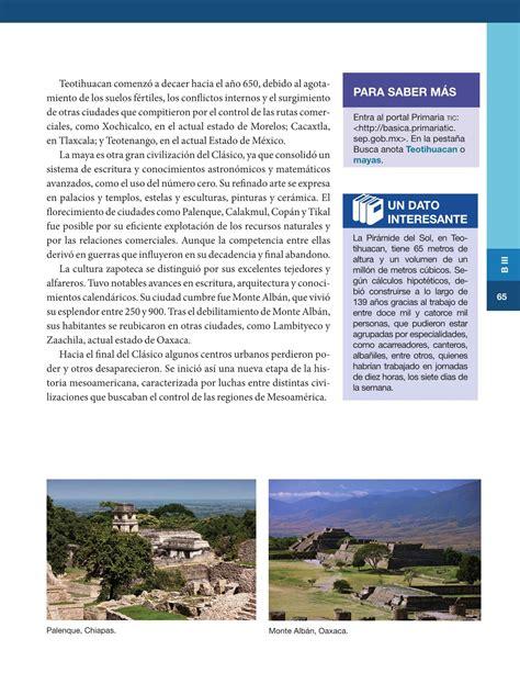 imagenes del libro de historia del bloque 4 historia sexto grado 2016 2017 online libros de texto