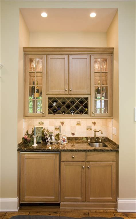 kitchen bar furniture wine rack and sink