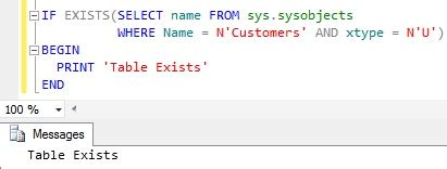 sql check if temp table exists how to check if a table exists in sql server sqlhints com