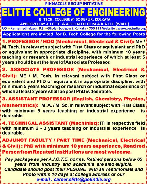 Chemical Engineering Plus Mba by In Kolkata Kolkata In India