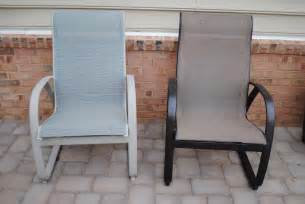 how to paint patio furniture adventures in diy patio furniture facelift