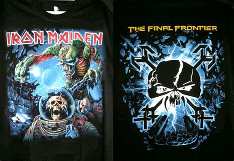 Kaos Iron Maiden Irm 09 by All Crew Store Kaos Import Thailand Seri Iron Maiden