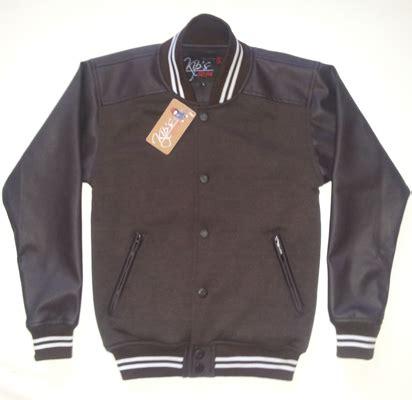 Jaket Semi Kulit Berkualitas Tinggi Menerima Preorder jaket varsity bb4 base aplikasi jkb100 kip s style