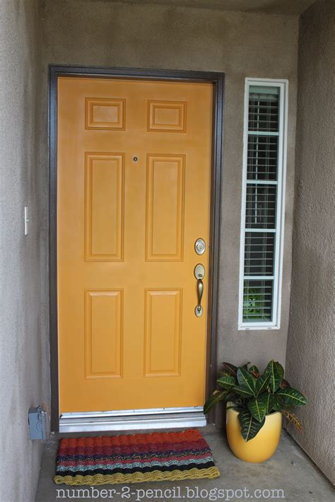 exterior door paint spray paint the front door no 2 pencil