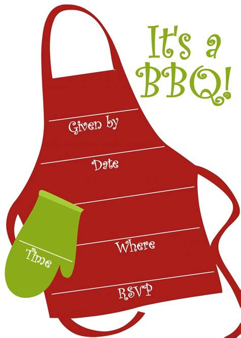 17 Best Images About Bbq Theme On Pinterest Hot Dogs Picnics And Summer Free Printable Bbq Invitation Templates