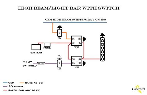 wiring led light bar to daystar switches