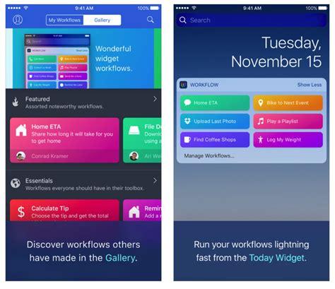 workflow iphone app 28 apple workflow workflow app best free home design