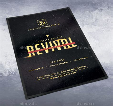 church revival flyer template free 20 revival flyer template free premium psd ai vector