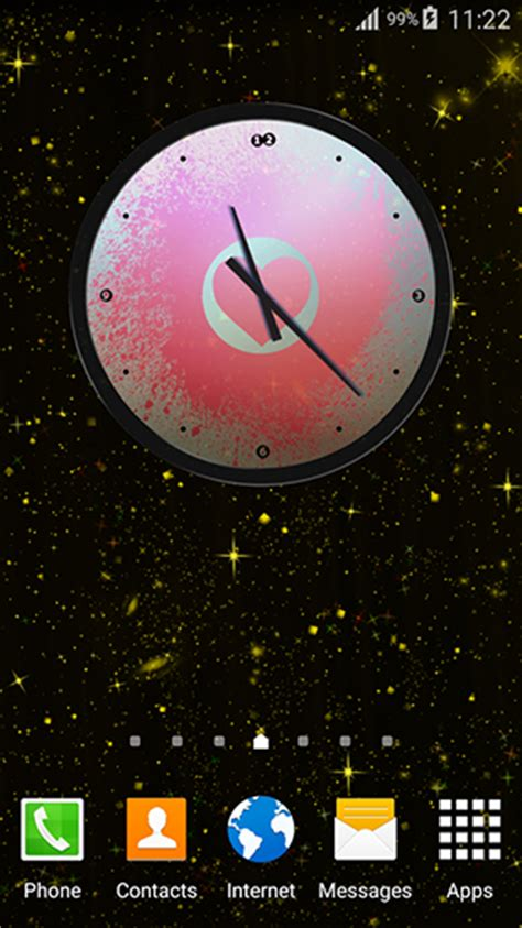 themes clock gratuit love clock pour android 224 t 233 l 233 charger gratuitement fond