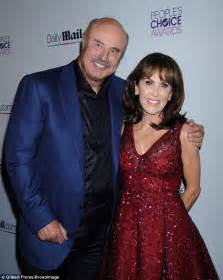 has anyone seen robin mcgraw dr phils wife recently dr phil attends dailymail com party with wife of nearly 40