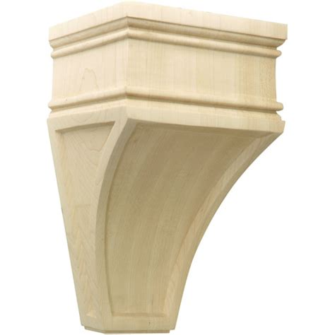 Wood Corbels For Shelves Carved Wood Corbel Arcadian In Shelf Brackets