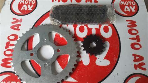 supershadow  oringli zincir disli seti motosiklet yedek