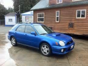 2002 Subaru Impreza Wrx Wagon 2002 Subaru Impreza Wrx Wagon For Sale In Seattle 187 Awd