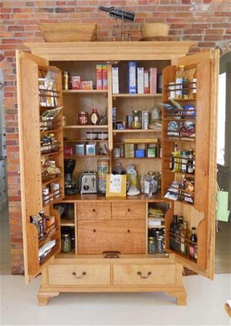 Kitchen Pantry Cabinets Freestanding by Freestanding Pantry Cabinet Home Interior