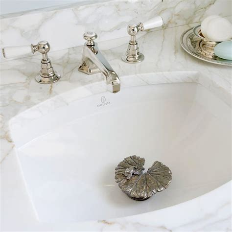 bathroom sink water stopper lily drain stopper traditional bathroom bhg
