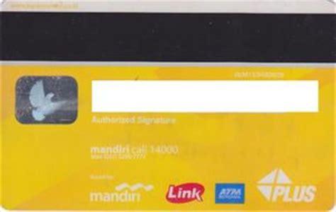 bank card bank mandiri visa debit gold bank mandiri