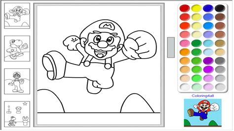 mario maker coloring pages super mario online coloring pages game super mario color