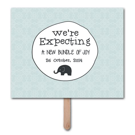 we re expecting pregnancy announcement photo prop template