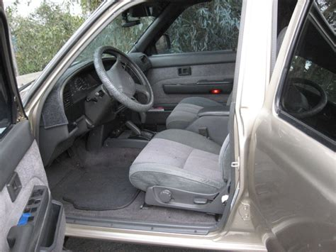 1990 Toyota 4runner Interior by 1990 Toyota 4runner Pictures Cargurus