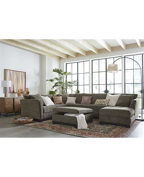 Macy Bedroom Furniture Closeout by Furniture Closeout Elliot Fabric Sectional Collection