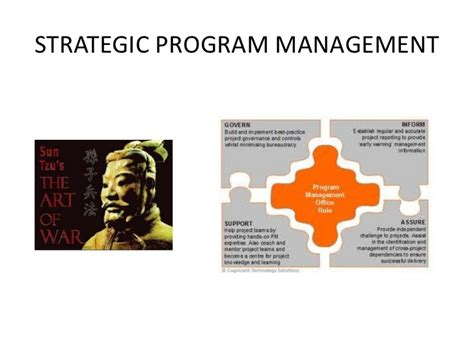 Strategic Management Mba Colleges by Strategic Program Management