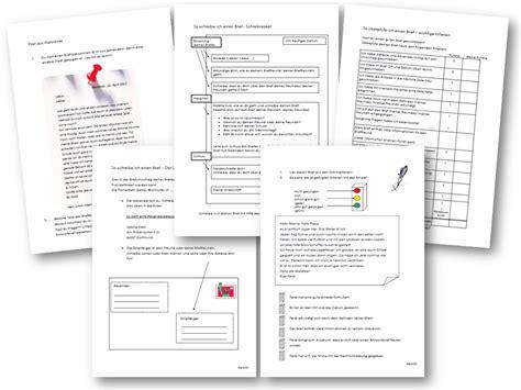 Offizieller Brief 4 Klasse Unterrichtsmaterial 220 Bungsbl 228 Tter F 252 R Die Grundschule Aufsatzerziehung 5 Brief