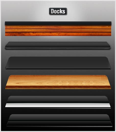 dock themes for iphone cydia assorted docks by enzudes1gn on deviantart