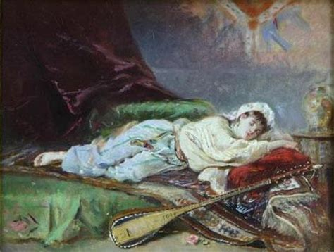 reclining odalisque reclining odalisque theodor aman wikiart org