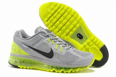 nike air max 2013 womens running shoe gray black light green