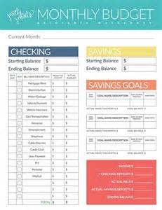 Free Budget Worksheets by 25 Best Budget Worksheets Ideas On