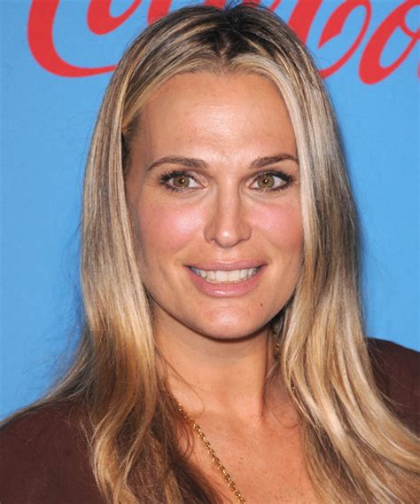 molly sims chin length for thin fine hair molly sims long straight casual hairstyle dark blonde