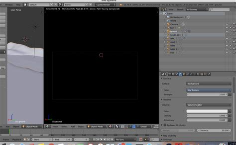 bitcoin fog tutorial volume scatter makes the render and render view goes