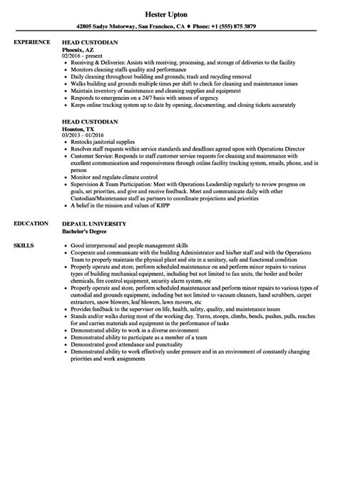 cover letter for custodian custodian resume cover letter pictures inspiration