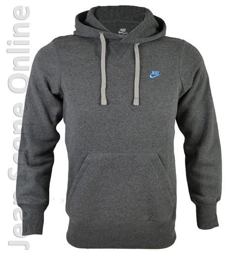 6584 Sport Hodie 1 new nike mens homme fleece hooded sweatshirt grey
