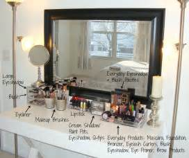 Makeup Vanity Organization Ideas Makeup Storage Desk Makeup Vidalondon