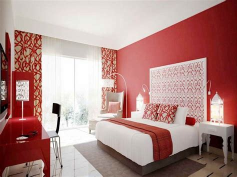 red paint for bedroom decorating with red walls google search mission condo