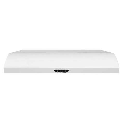 whirlpool under cabinet range hood whirlpool 30 in convertible range hood in white