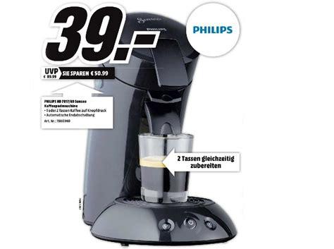 media markt kaffeepadmaschine senseo kaffeemaschine angebot media markt frische haus ideen