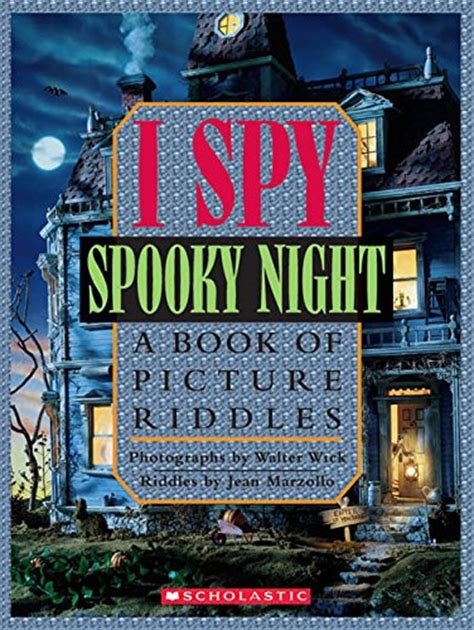 i spooky a book of picture riddles spectacularly spooky books for parenting