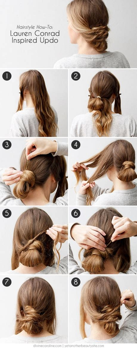 easy updos for hair