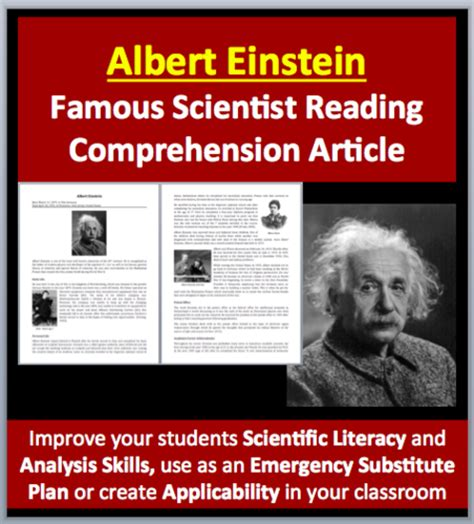 albert einstein biography for middle schoolers teach with fergy s shop teaching resources tes