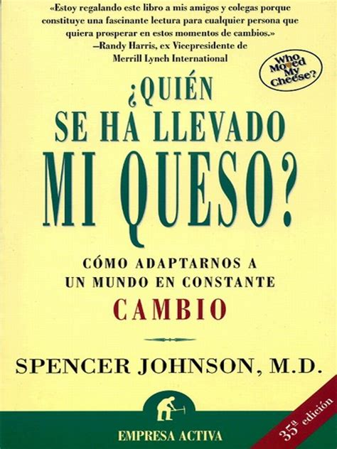 libro quin anda ah quien se ha llevado mi queso spencer johnson