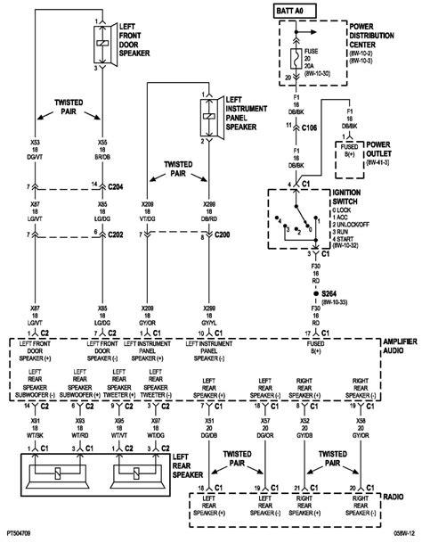2001 pt cruiser wiring diagram wiring diagrams repair