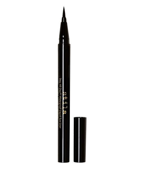 Top La Tulipe Waterproof Eyeliner stay all day waterproof liquid eye liner black by stila cosmetics