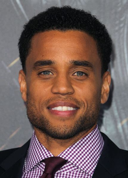 half cast actor with blue eyes michael ealy photos photos premiere of screen gems