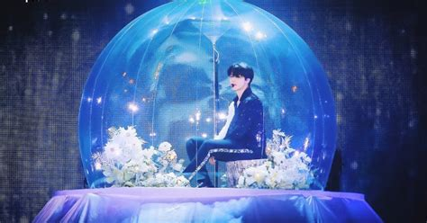 btss jimin magically appeared   bubble