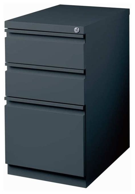 hirsh 3 drawer file cabinet black hirsh industries 3 drawer mobile file cabinet in charcoal